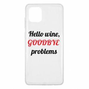Etui na Samsung Note 10 Lite Hello wine, GOODBYE  problems