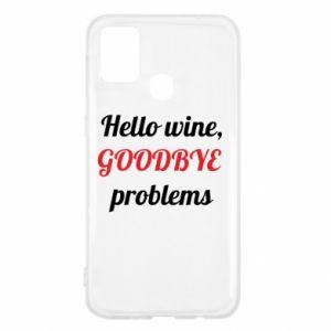 Etui na Samsung M31 Hello wine, GOODBYE  problems