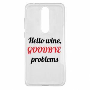 Etui na Nokia 5.1 Plus Hello wine, GOODBYE  problems