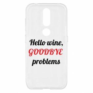Etui na Nokia 4.2 Hello wine, GOODBYE  problems