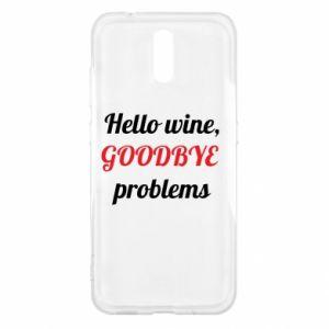 Etui na Nokia 2.3 Hello wine, GOODBYE  problems