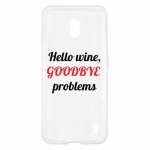 Etui na Nokia 2.2 Hello wine, GOODBYE  problems