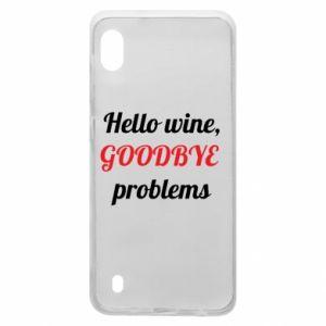 Etui na Samsung A10 Hello wine, GOODBYE  problems