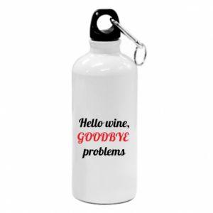 Bidon Hello wine, GOODBYE  problems
