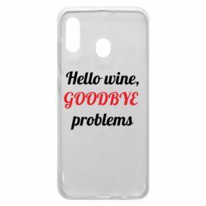 Etui na Samsung A20 Hello wine, GOODBYE  problems