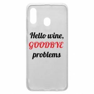 Etui na Samsung A30 Hello wine, GOODBYE  problems