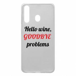 Etui na Samsung A60 Hello wine, GOODBYE  problems
