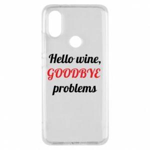 Etui na Xiaomi Mi A2 Hello wine, GOODBYE  problems