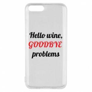 Etui na Xiaomi Mi6 Hello wine, GOODBYE  problems