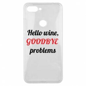Etui na Xiaomi Mi8 Lite Hello wine, GOODBYE  problems