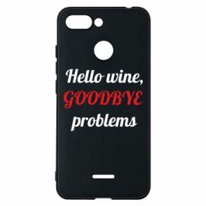 Etui na Xiaomi Redmi 6 Hello wine, GOODBYE  problems