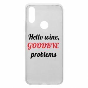 Etui na Xiaomi Redmi 7 Hello wine, GOODBYE  problems