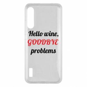 Etui na Xiaomi Mi A3 Hello wine, GOODBYE  problems