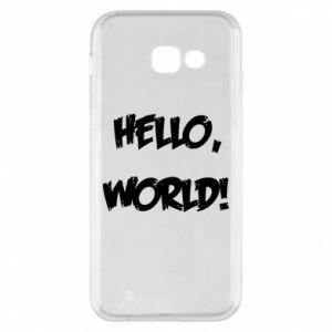 Phone case for Samsung A5 2017 Hello, world! - PrintSalon