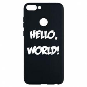 Phone case for Huawei P Smart Hello, world! - PrintSalon