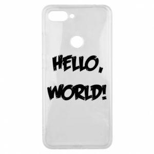 Phone case for Xiaomi Mi8 Lite Hello, world! - PrintSalon