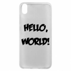 Phone case for Xiaomi Redmi 7A Hello, world! - PrintSalon