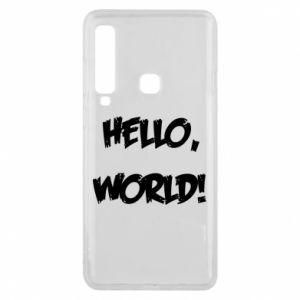 Phone case for Samsung A9 2018 Hello, world! - PrintSalon