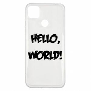 Etui na Xiaomi Redmi 9c Hello, world!