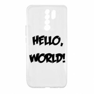 Etui na Xiaomi Redmi 9 Hello, world!