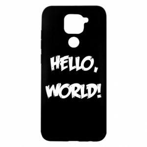 Etui na Xiaomi Redmi Note 9/Redmi 10X Hello, world!