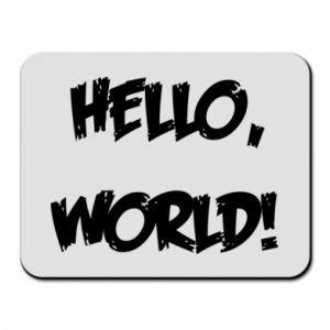Mouse pad Hello, world! - PrintSalon