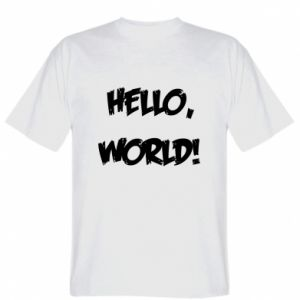 T-shirt Hello, world!