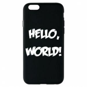 Phone case for iPhone 6/6S Hello, world! - PrintSalon