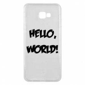 Phone case for Samsung J4 Plus 2018 Hello, world! - PrintSalon