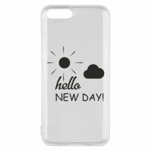 Etui na Xiaomi Mi6 Hello. New day!