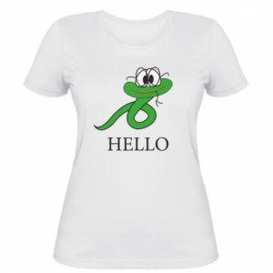 Women's t-shirt Hello