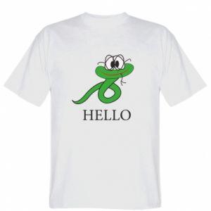 Koszulka męska Hello