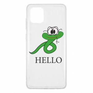 Etui na Samsung Note 10 Lite Hello