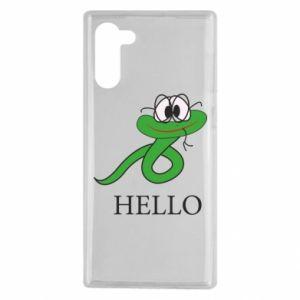Etui na Samsung Note 10 Hello