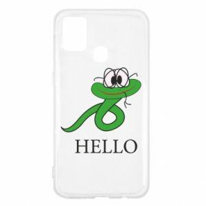 Samsung M31 Case Hello