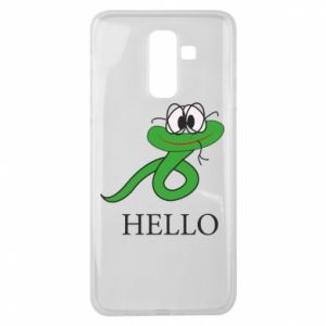 Samsung J8 2018 Case Hello