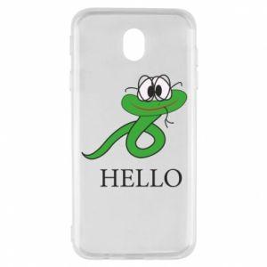 Samsung J7 2017 Case Hello