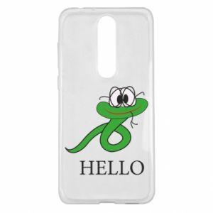 Nokia 5.1 Plus Case Hello