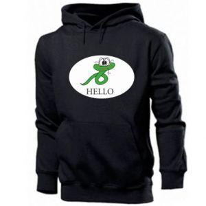 Men's hoodie Hello
