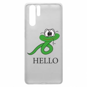 Huawei P30 Pro Case Hello