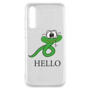 Huawei P20 Pro Case Hello