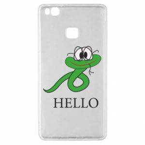 Huawei P9 Lite Case Hello