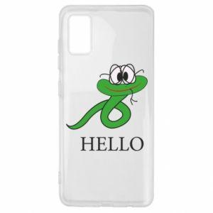 Samsung A41 Case Hello