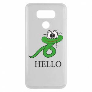LG G6 Case Hello