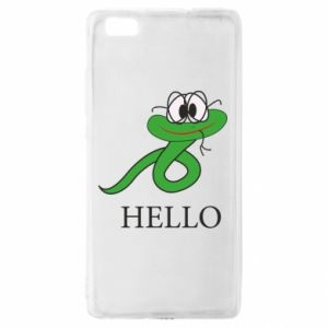 Huawei P8 Lite Case Hello