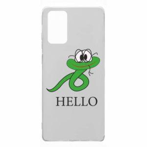 Etui na Samsung Note 20 Hello