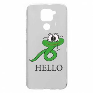 Xiaomi Redmi Note 9 / Redmi 10X case % print% Hello