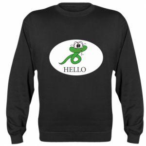 Sweatshirt Hello