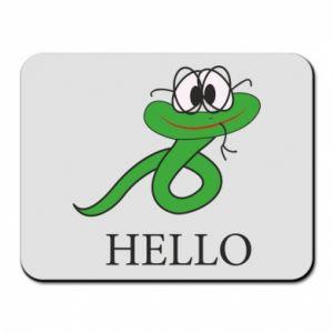 Podkładka pod mysz Hello