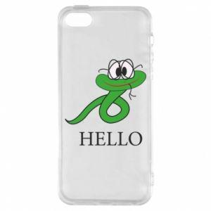 Etui na iPhone 5/5S/SE Hello